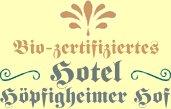 BIO Hotel Höpfigheimer Hof Steinheim